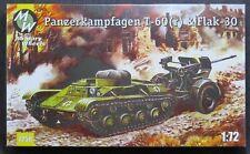 MILITARY WHEELS   Panzerkampfagen T-60 (r) & Flak 30 Gun 7258 IBM72058 1/72