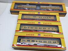 Union Pacific Passenger Train Ho scale set