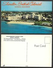 Old Bahamas Postcard - Nassau - Sheraton British Colonial Hotel