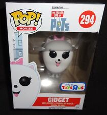 Funko POP The Secret Life of Pets Gidget Vinyl Figure ToysRus Exclusive