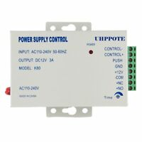 AC110-240V To DC12V 3A Power Supply For Door Access Control Worldwide Voltage