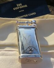 SILLEMS IM CORONA STERLING SILBER OLD BOY LIGHTER W/ 925 SILVER