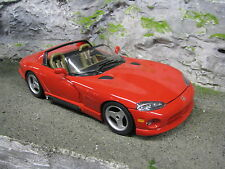 Bburago Dodge Viper SRT/10 1:18 Red