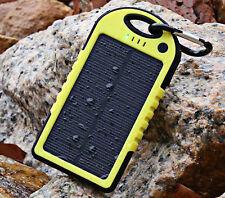 CARICA BATTERIA PANNELLO SOLARE YD T011 X SMARTPHONE POWER BANK 5000MAH USB