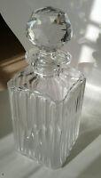 Magnifique Carafe en Cristal taillé à côtes VAL SAINT LAMBERT crystal decanter