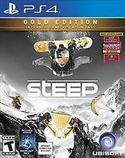 New / Sealed Steep Gold Edition w/ Season Pass + Bonus Content Playstation 4 PS4