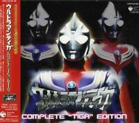 SCI-FI LIVE ACTION (MUSIC BY TATSUMI YANO)-ULTRAMAN TIGA COMPLETE-JAPAN 3 CD K81