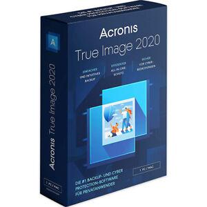 Acronis True Image 2020 Standard / PC/MAC / Dauerlizenz, ESD-Versand, NEU!