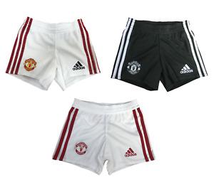 Man United Football Shorts adidas Kids Infants Mini Kit 2020-21 Shorts - New