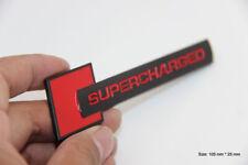 B350 Supercharged Emblem Badge auto aufkleber 3D mobil car Sticker schwarz rot