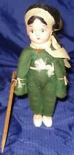 KM403 Vtg Doll Arms Move Fixed Eyes