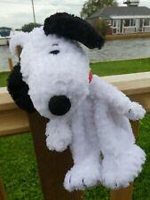 SNOOPY ZIP PURSE SOFT PLUSH PEANUTS DOG