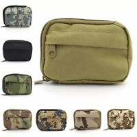 Molle Pouch Small Practical Coin Purse Military Tactical Bag Camping Hiking