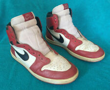 1985 ORIGINAL VINTAGE Nike Air Jordan 1 Size 10.5 Chicago White Black Red OG