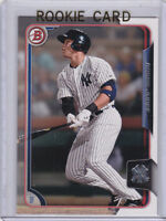 AARON JUDGE ROOKIE CARD 2015 Bowman NEW YORK YANKEES RC Baseball RED HOT MINT LE