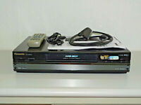 Panasonic NV-HS830 High-End S-VHS ET Videorecorder, FB&BDA, 2 Jahre Garantie