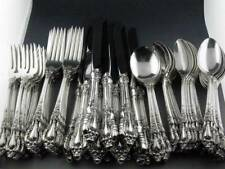 72pc Sterling LUNT Flatware Set ELOQUENCE service for 12 ~101.98 troy ozs