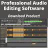 Professional Audio Music Software Editing Recording Mixing PC Full Version