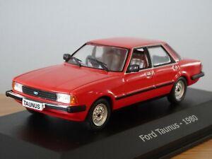 ALTAYA IXO FORD TAUNUS TC3 (CORTINA MK5) RED 1980 CAR MODEL NA04 1:43