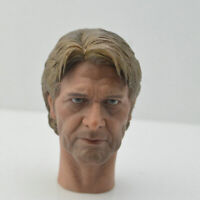 Star War Old Age Han Solo Harrison Ford Head Sculpt 1/6 Fit 12'' Action Figure