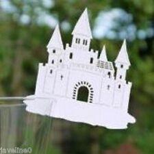 """10 Marque-place """" Chateau de Princesse Blanc"""" : Décoration Table mariage W 300"""
