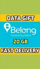 Belong Mobile Data Gift - 20 GB  . ONLY $6 for 10GB