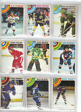 Lot of 20 Different 1978-79 OPC O-Pee-Chee Cards **U-Pick** Complete Your Set