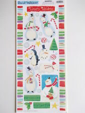 Creative Imaginations Paper Scrapbook Stickers - Christmas Snowmen snowman