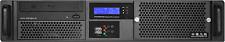 "2U LCD SPI 400W(Micro-ATX/ITX)(2x5.25""+2x3.5"" HDD Bay)Rackmount(D14.96"" Case)NEW"