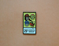 Retro Avengers Comics Fan Art Enamel Pin