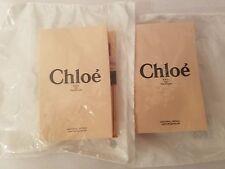 2 SEALED Chloe Eau De Parfum Spray Sample Vial