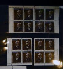 CANADA PLATE BLOCKS 877 17c x 16 EMMANUEL-PERSILLIER LACHAPELLE x 4