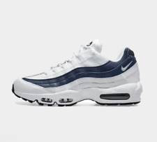 Nike Air Max 95 Essential 749766 114 Blanco/Blanco/azul marino noche UK 6-11