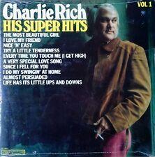 CHARLIE RICH - HIS SUPER HITS VOLUME 1 - CSP LABEL - 1981 LP - STILL SEALED...