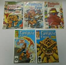 Fantastic Four lot 10 different Thing Clobberin' Time appearances avg 8.0 VF