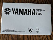 """Yamaha FC5 Compact Sustain Pedal for Portable Keyboards black """"NEW"""""""