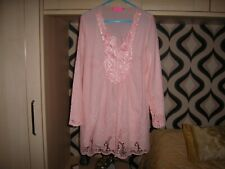 Ladies Top size XXL approx size 12/14 UK Peach very good condition