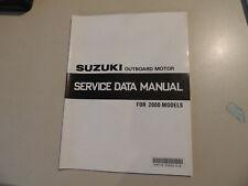 Service Data Manual Suzuki Modellj 2000 von 2 bis 225 PS Außenborder Datenbuch