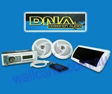 DNA MA4BP Bluetooth Marine Audio Pack Boat Radio Speakers Stealth Antenna