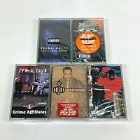 Lot 5 Cassette Tapes ATLANTA Georgia South G Rap 90's Early 2000 Hip Hop *SEALED