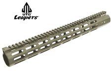 "UTG Leapers *PRO M-LOK 15"" Free Float Handguard FDE Cerakote # MTU019SSMD * New!"