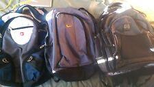 Backpacks (4) Swiss Army,HP,...Nike...retail $165