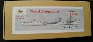 HP Models 1:700 WL  Troßschiff Franken der  Deutschen Kriegsmarine -1943-