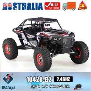 WLtoys 10428-B2 1/10 RC Car 2.4G 4WD 50Km/h Crawler Off-Road Baja RC Car RTR