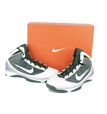 New Deadstock Nike Hyperize TB Basketball Sneakers Shoes Green White Mens 13.5
