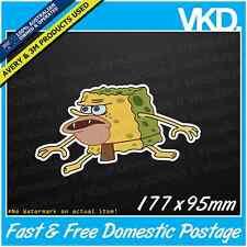 Spongegar Sticker/ Decal - JDM Drift Dabs Dab Funny Meme Primitive Spongebob