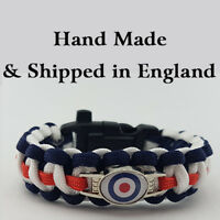 Royal Air Force Badged Survival Bracelet Tactical Edge Wristband RAF