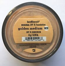 Bare Escentuals Bare Minerals Foundation Golden Medium W20 8g XL ORIGINAL SPF15