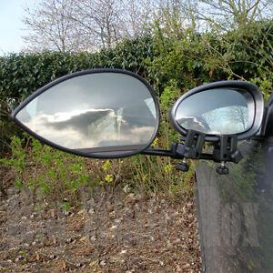 Pair of Milenco Aero 4 – Caravan Towing Mirrors – Flat Glass + Storage Bag
