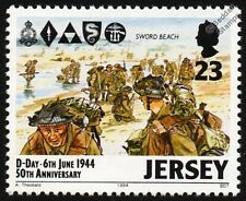 WWII D-DAY Landings - SWORD BEACH 3rd British Infantry Division Stamp